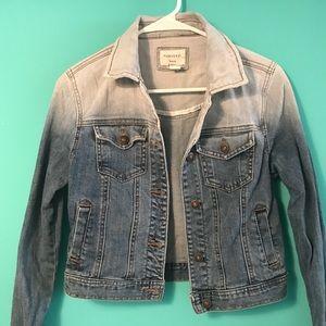 Hombre fade jean jacket